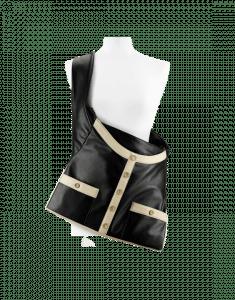 Chanel Black/Beige Girl Chanel Bag - Spring 2015 Act 2