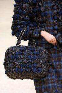 Chanel Black/Blue Puffed Bag - Fall 2015 Runway