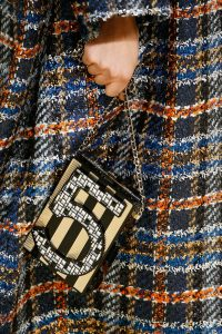 Chanel Black/Gold 5 Mosaic Embellished Clutch Bag 2 - Fall 2015 Runway