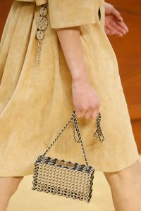 Chanel Black/Silver Wired Minaudiere Bag - Fall 2015 Runway