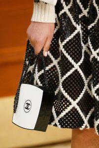 Chanel Black/White Plexiglass Shoulder Bag - Fall 2015 Runway