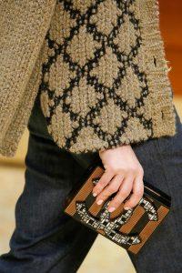 Chanel CC Mosaic Embellished Clutch Bag - Fall 2015 Runway
