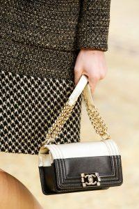 Chanel Gold/Black Boy Bag - Fall 2015 Runway