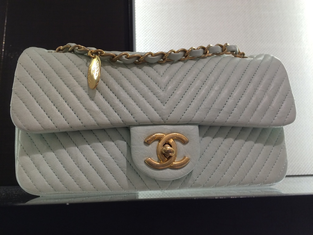 67068fe59cfd8c Chanel Boy Chevron Flap Bags for Spring / Summer 2015 | Spotted Fashion