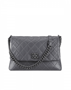 Chanel Grey Satchel Couture Bag - Spring 2015 Act 2