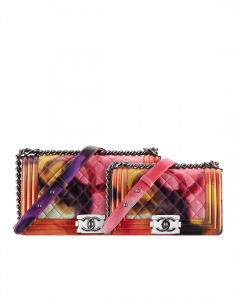 Chanel Multicolor Boy Flower Power Small:Medium Bags - Spring 2015 Act 2