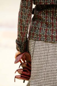 Chanel Red Quilted Flap Bag - Fall 2015 Runway