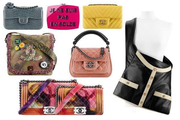 f2cd81987f0c Chanel Spring/Summer 2015 Act 2 Bag Collection Featuring Girl Bag ...