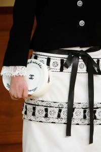 Chanel White Plate Clutch Bag 2 - Fall 2015 Runway