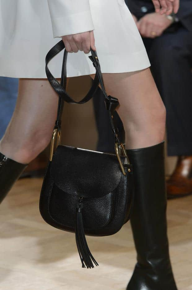 Chloe Fall / Winter 2015 Runway Bag Collection feature a ...