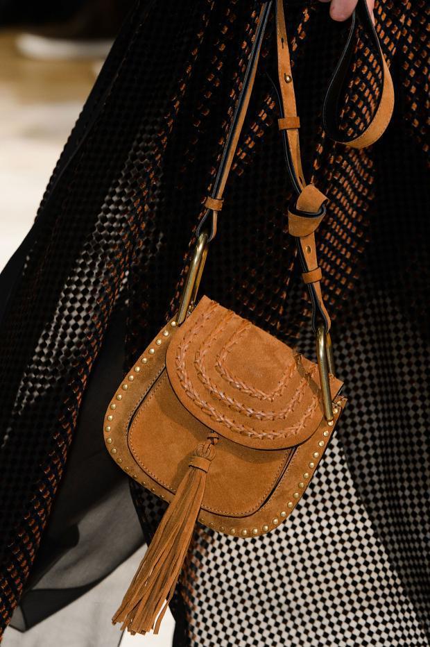 chloe designer handbags - Chloe Fall / Winter 2015 Runway Bag Collection feature a 70's vibe ...