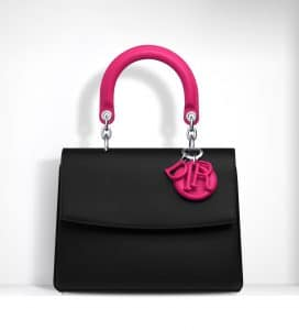 Dior Black/Fuchsia Be Dior Small Bag - Spring 2015