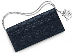 Dior Bleu Nuit Evening Pouch Bag - Spring 2015