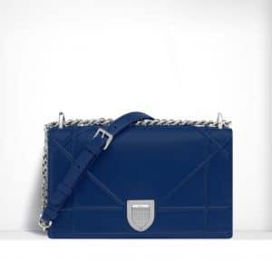 Dior Blue Diorama Flap Bag - Spring 2015