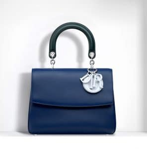 Dior Blue/Celeste/Deep Green Be Dior Small Bag - Spring 2015