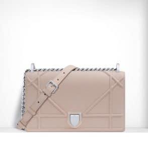 Dior Rose Poudre Diorama Flap Bag - Spring 2015