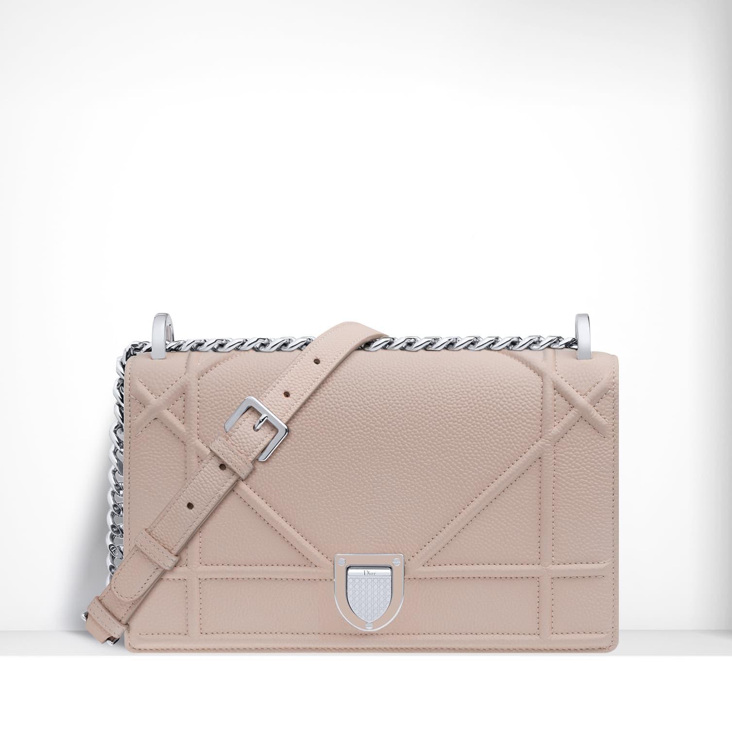 dior rose poudre diorama flap bag spring 2015 - Poudre Color Run