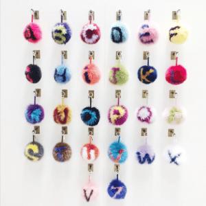 Fendi Alphabet Charms - Fall 2015