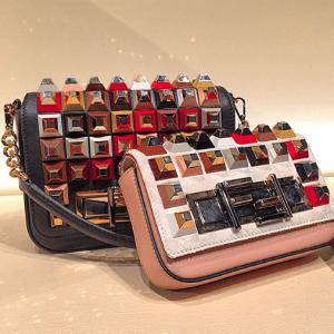 Fendi Embellished 3Baguette Bags 2 - Fall 2015