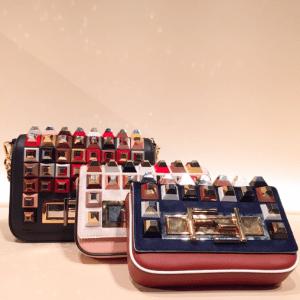 Fendi Embellished 3Baguette Bags - Fall 2015