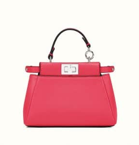 30653e69a729 ... Fendi Fuchsia Micro Peekaboo Bag Fendi Light Blue ...