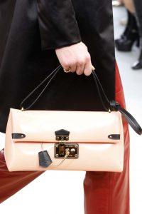 Louis Vuitton Beige Flap Bag - Fall 2015 Runway