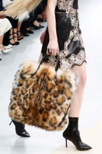 Louis Vuitton Beige/Brown Fur Tote Bag 2 - Fall 2015 Runway