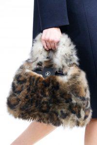 Louis Vuitton Beige/Brown Fur Tote Bag - Fall 2015 Runway