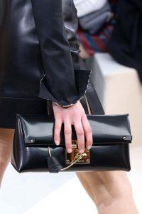 Louis Vuitton Black Clutch Bag - Fall 2015 Runway