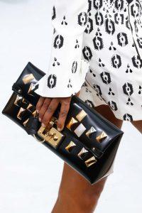 Louis Vuitton Black Embellished Clutch Bag - Fall 2015 Runway