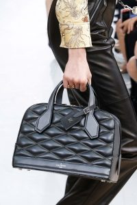 Louis Vuitton Black Malletage Dora Bag - Fall 2015 Runway