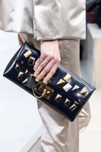 Louis Vuitton Blue Embellished Clutch Bag - Fall 2015 Runway