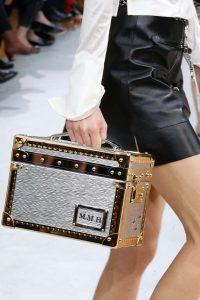 Louis Vuitton Gold/Silver Epi Mini Trunk Bag - Fall 2015 Runway