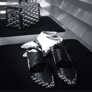 Louis Vuitton Mini Trunk Bag and Shoes from Fall 2015