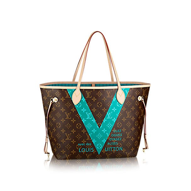 Collection Sacs à Main Louis Vuitton : Louis vuitton monogram v bag collection spotted fashion