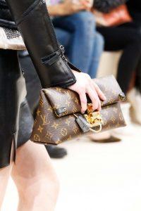 Louis Vuitton Monogram Canvas Clutch Bag - Fall 2015 Runway