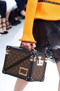 Louis Vuitton Monogram Canvas Mini Trunk Bag - Fall 2015 Runway