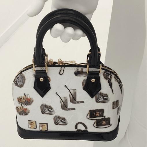 Louis Vuitton Monogram Canvas Stickers Animation Alma BB Bag