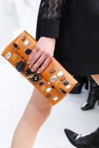Louis Vuitton Orange Embellished Clutch Bag - Fall 2015 Runway