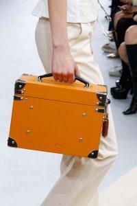 Louis Vuitton Orange Mini Trunk Bag - Fall 2015 Runway