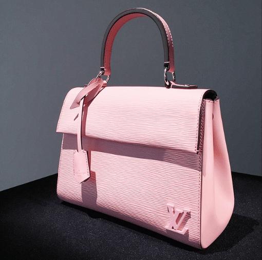 Сумка-переноска Louis Vuitton розовая Доставка по России