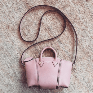 Louis Vuitton Pink Soft Lockit Nano Bag - Pre-Fall 2015