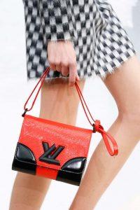Louis Vuitton Red/Black Epi Twist Bag - Fall 2015 Runway