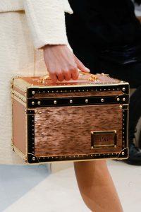 Louis Vuitton Rose Gold Epi Mini Trunk Bag - Fall 2015 Runway
