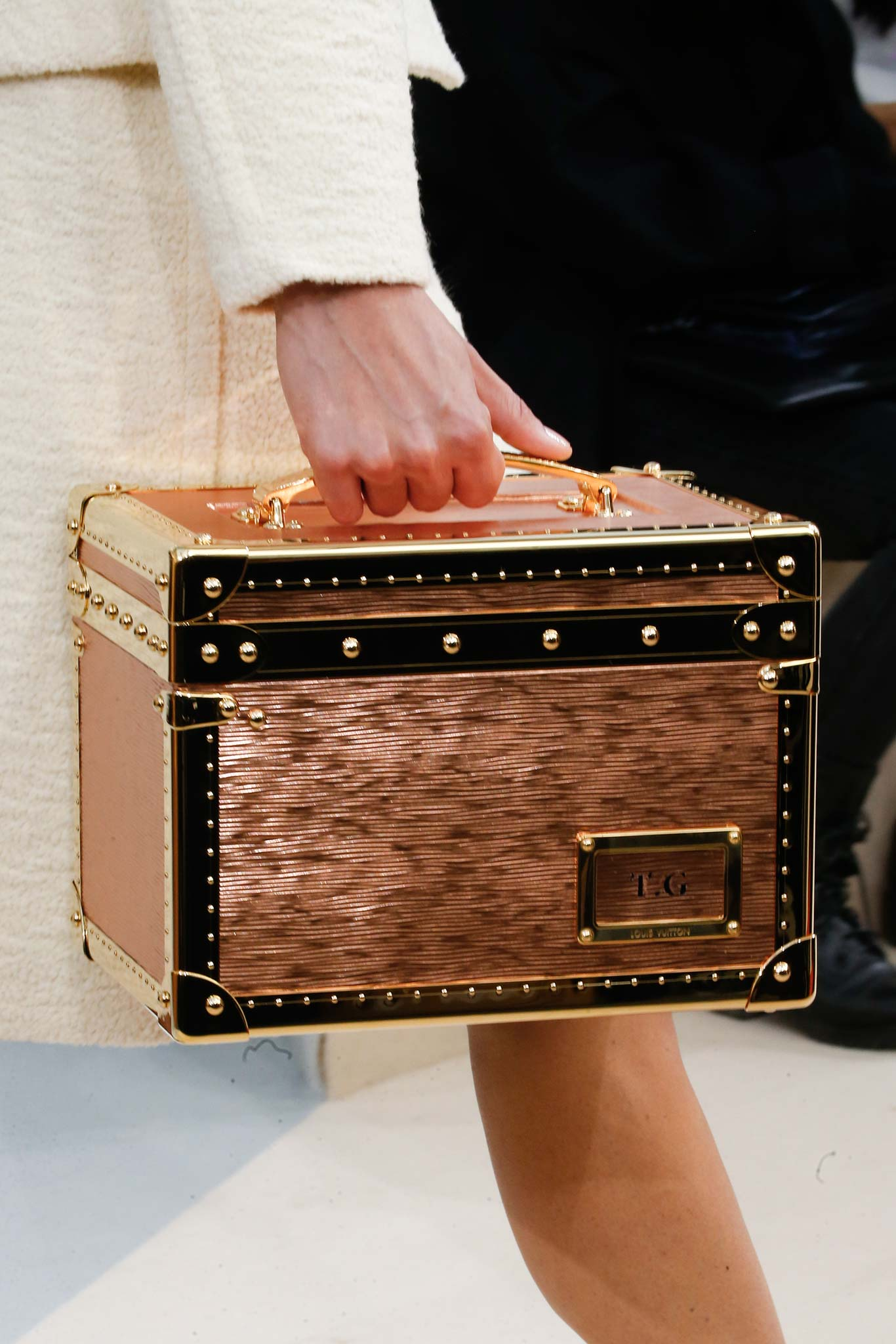 louis vuitton fall  winter 2015 runway bag collection featuring mini trunks
