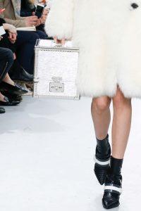 Louis Vuitton Silver Epi Mini Trunk Bag - Fall 2015 Runway