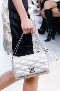 Louis Vuitton Silver Malletage Twist Bag - Fall 2015 Runway