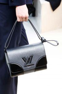 Louis Vuitton Silver/Black Epi Twist Bag - Fall 2015 Runway