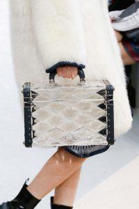 Louis Vuitton Transparent Malletage Mini Trunk Bag - Fall 2015 Runway