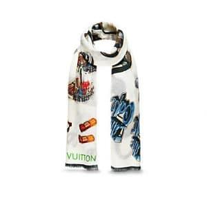 Louis Vuitton Stickers Stole